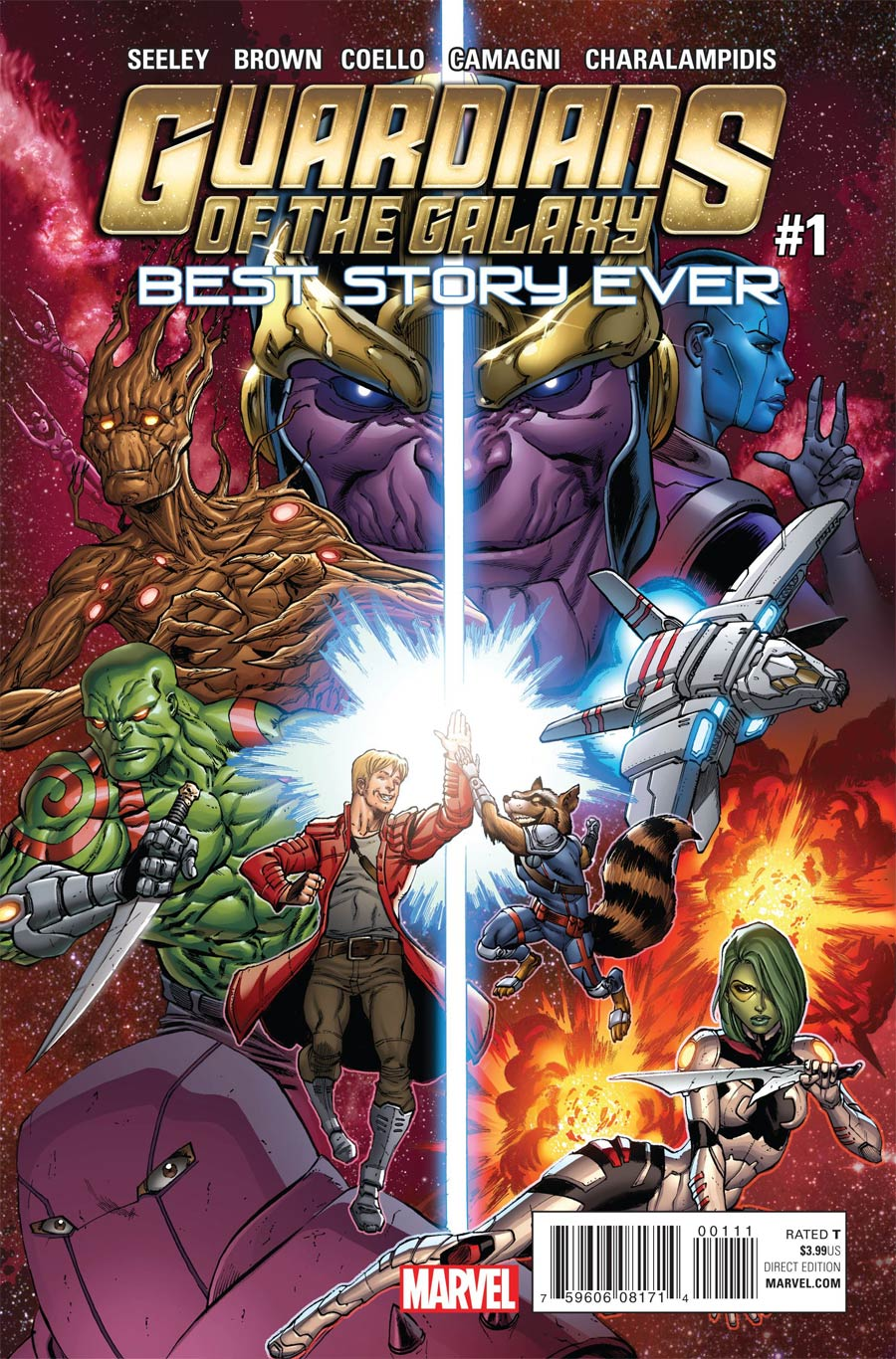 Guardians Of The Galaxy Best Story Ever #1 Cover A Regular Tim Seeley Cover