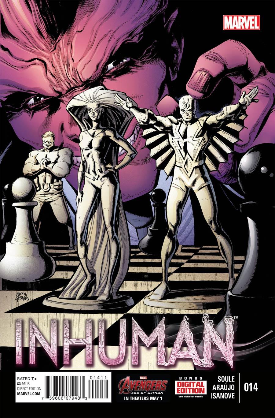 Inhuman #14 Cover A Regular Ryan Stegman Cover