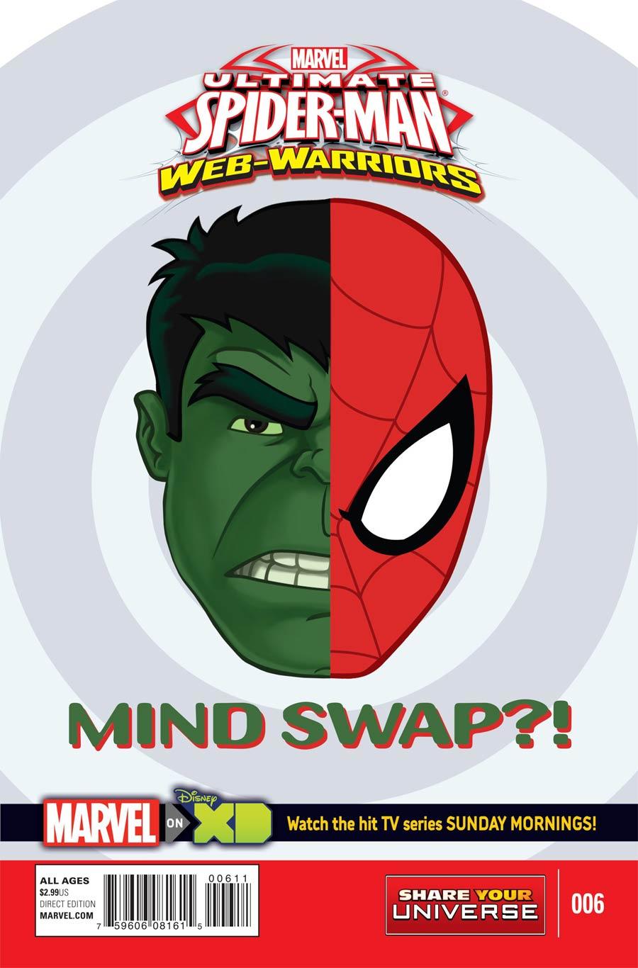 Marvel Universe Ultimate Spider-Man Web Warriors #6