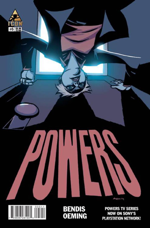 Powers Vol 4 #5 Cover A Regular Michael Avon Oeming Cover