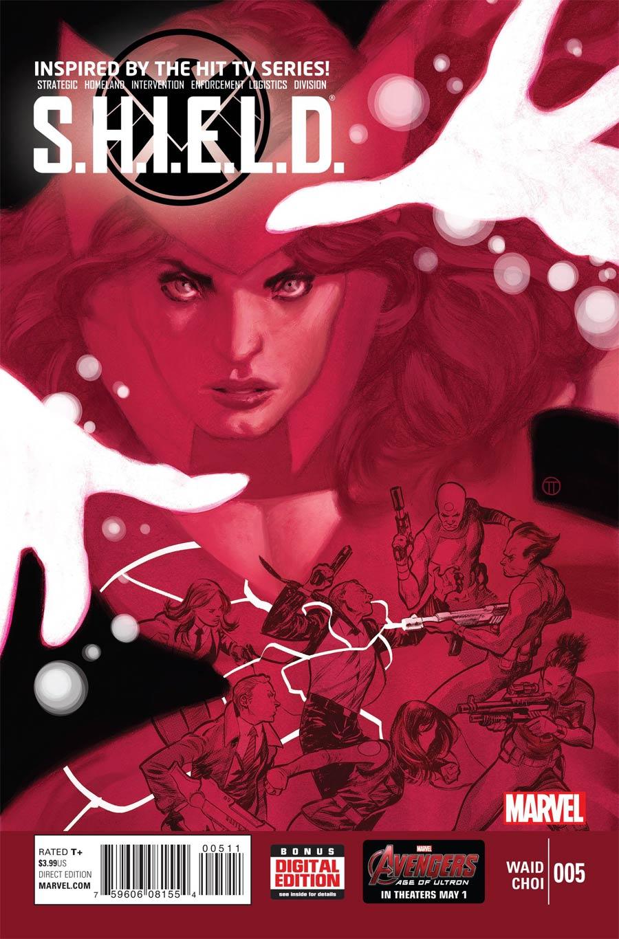 S.H.I.E.L.D. Vol 4 #5 Cover A Regular Julian Totino Tedesco Cover