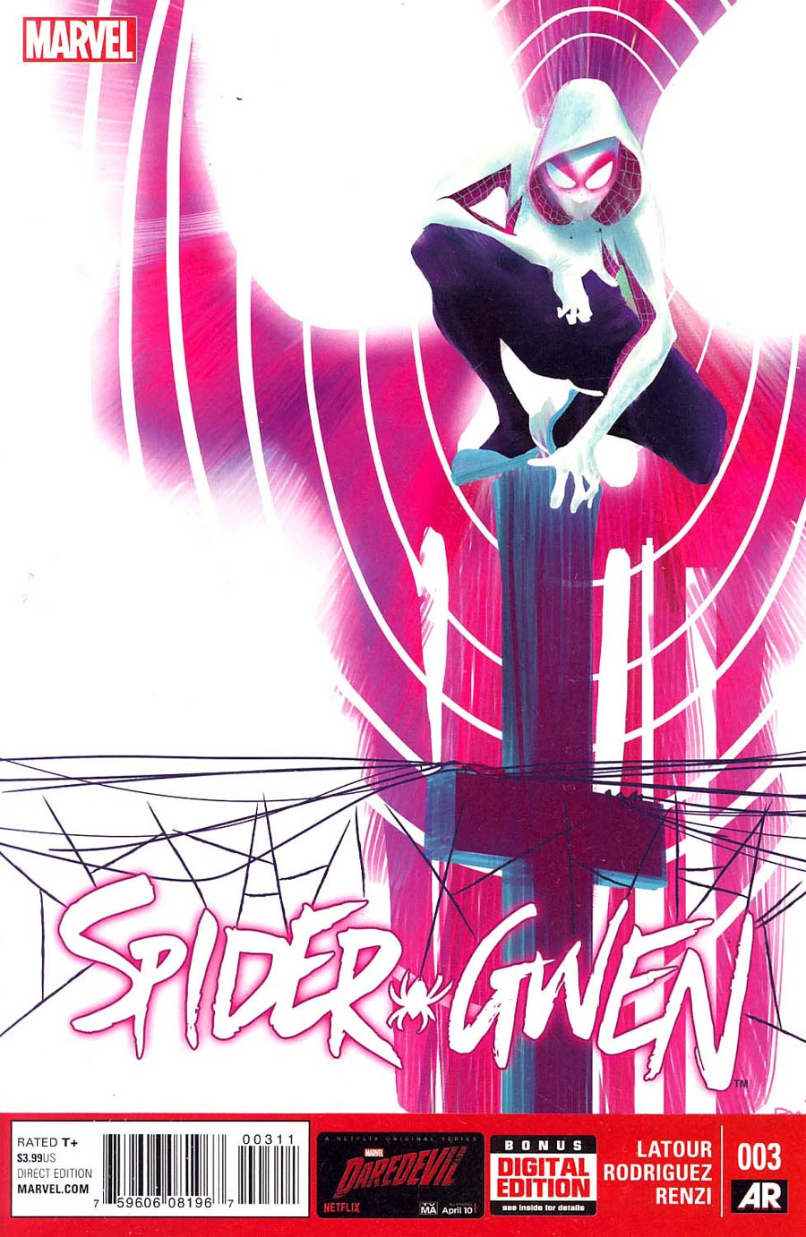 Spider-Gwen #3 Cover A Regular Robbi Rodriguez Cover