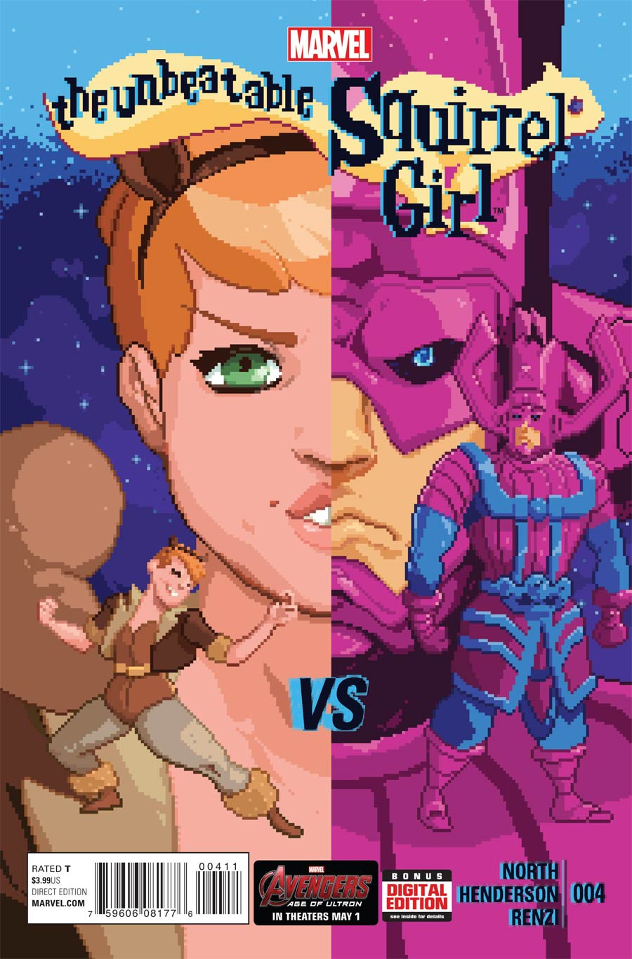 Unbeatable Squirrel Girl #4 Cover A 1st Ptg
