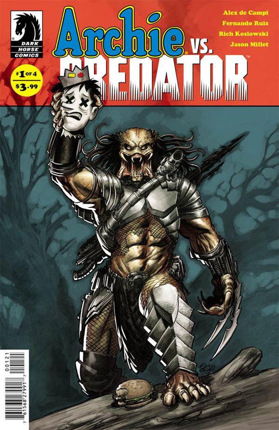 Archie vs Predator #1 Cover B Variant Eric Powell Cover