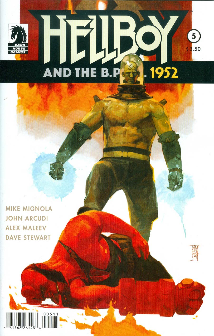 Hellboy And The BPRD 1952 #5