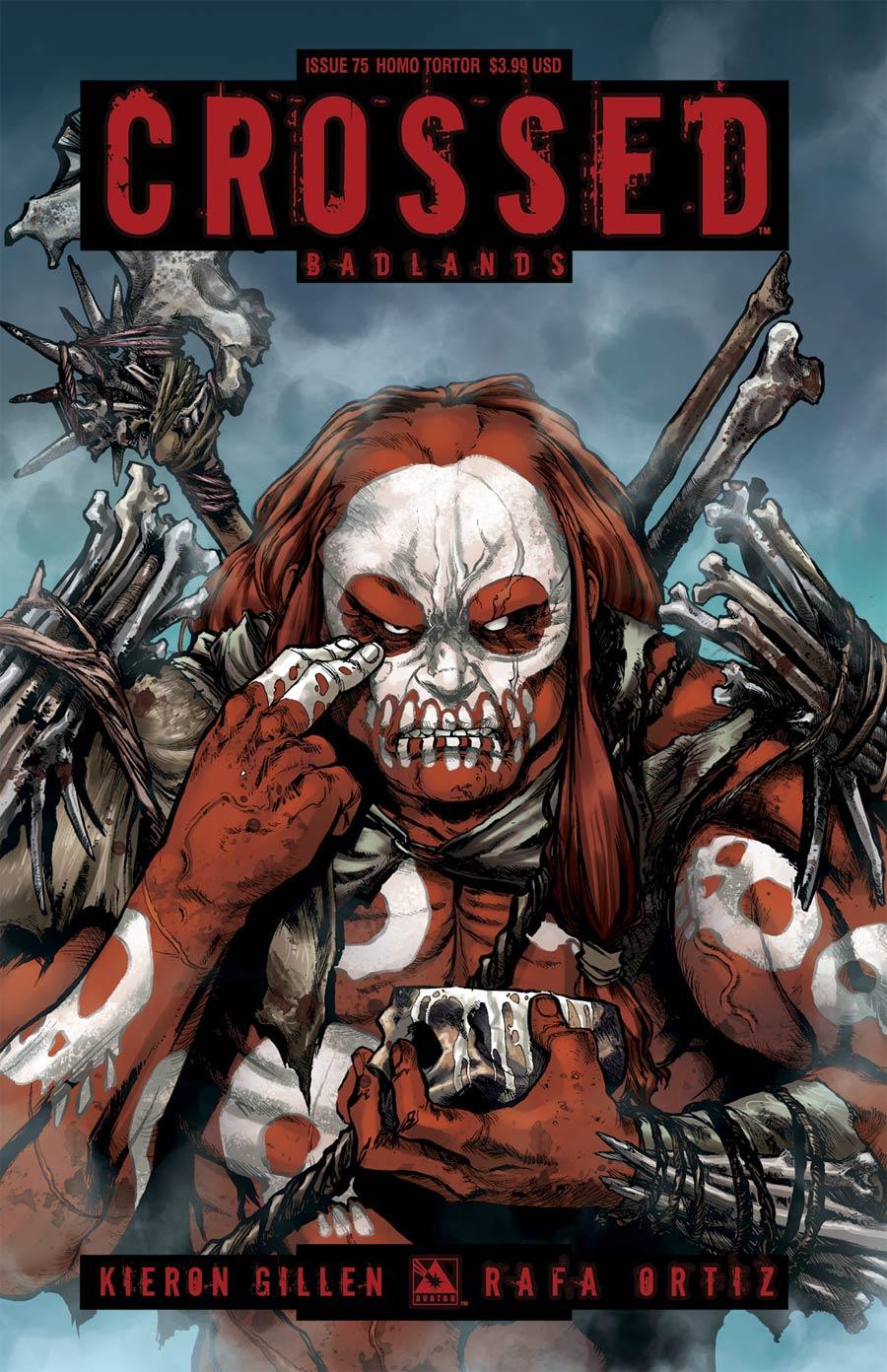 Crossed Badlands #75 Cover E Homo Tortor Cover
