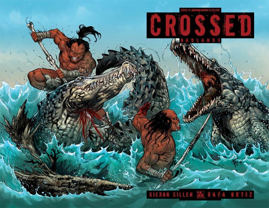 Crossed Badlands #75 Cover H Megafauna Mayhem Cover