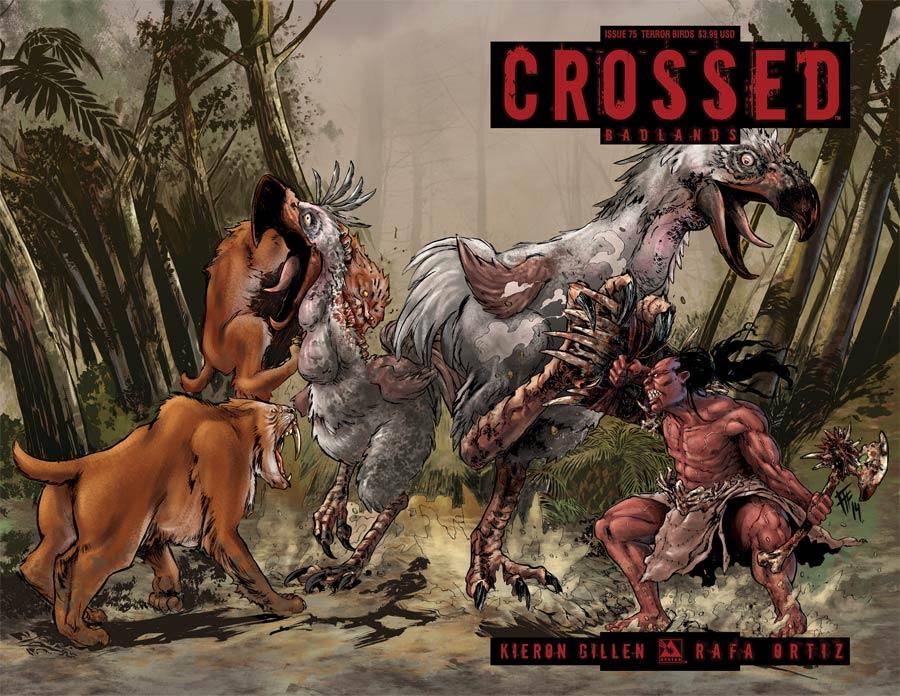Crossed Badlands #75 Cover I Terror Birds Cover