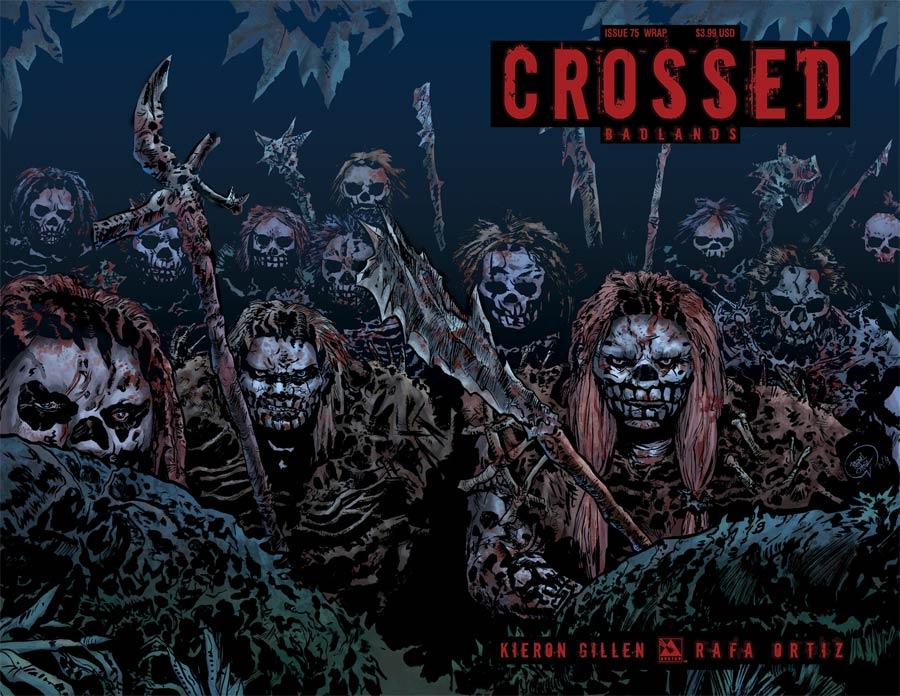 Crossed Badlands #75 Cover G Wraparound Cover