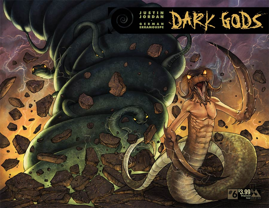 Dark Gods #6 Cover B Wraparound Cover