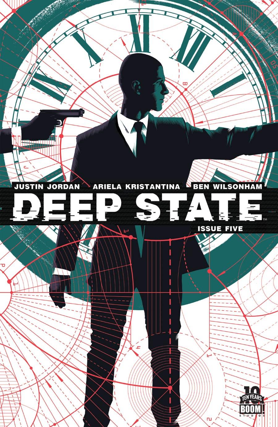 Deep State #5 Cover A Regular Matt Taylor Cover