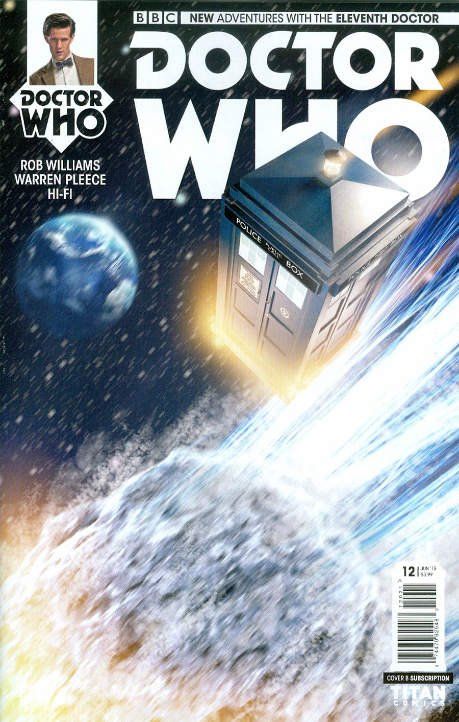 Doctor Who 11th Doctor #12 Cover B Variant Photo Subscription Cover