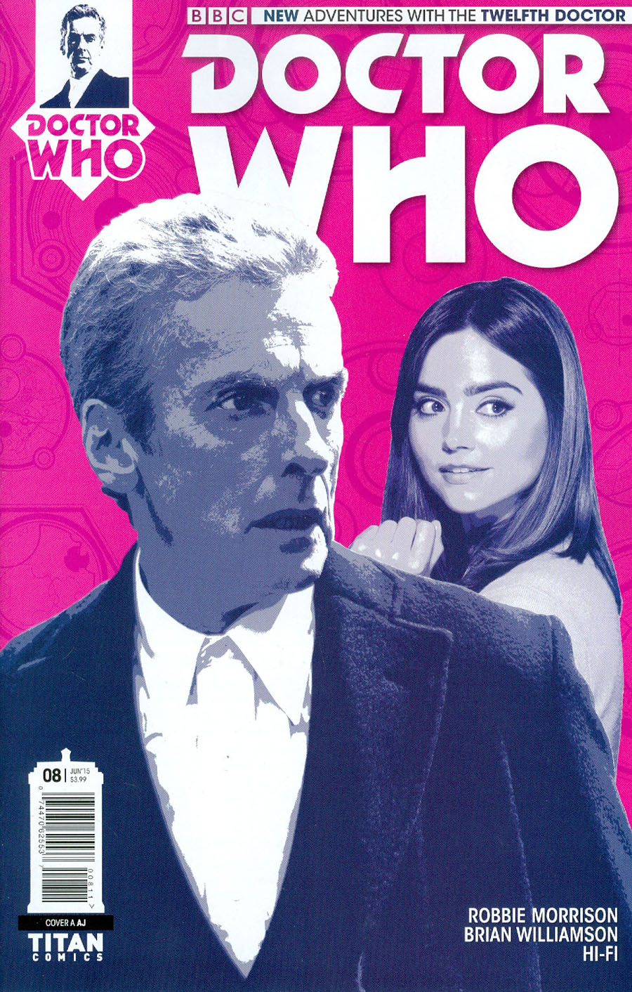 Doctor Who 12th Doctor #8 Cover A Regular AJ Cover