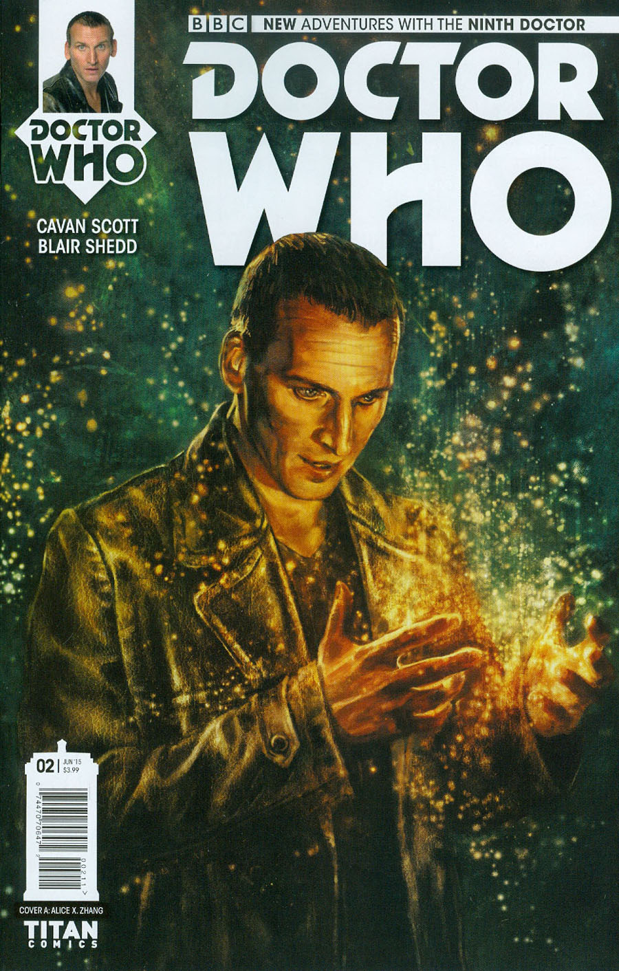 Doctor Who 9th Doctor #2 Cover A Regular Alice X Zhang Cover