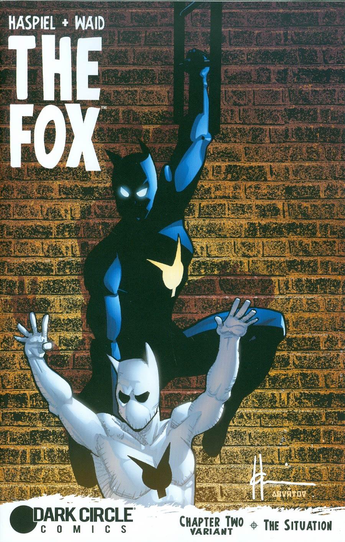 Fox Vol 2 #2 Cover B Variant Howard Chaykin Father & Son Cover