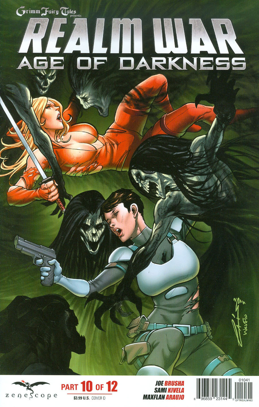Grimm Fairy Tales Presents Realm War #10 Cover D Emilio Laiso (Age Of Darkness Tie-In)