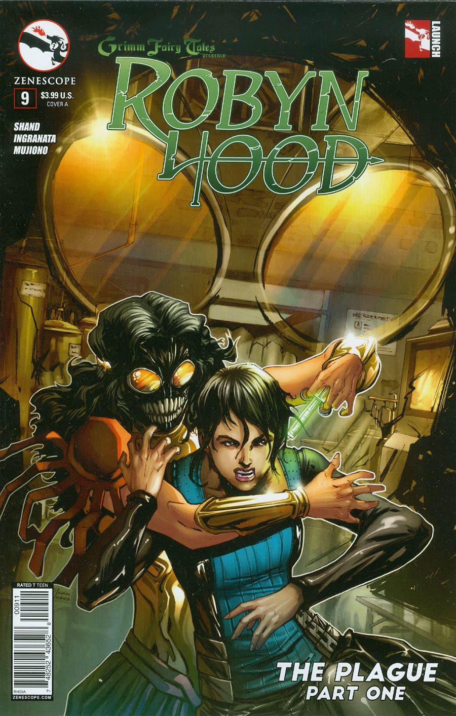 Grimm Fairy Tales Presents Robyn Hood Vol 2 #9 Cover A Tony Brescini