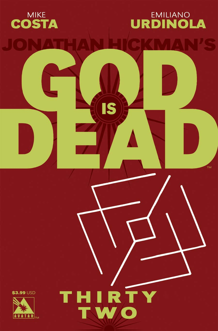 God Is Dead #32 Cover A Regular Cover