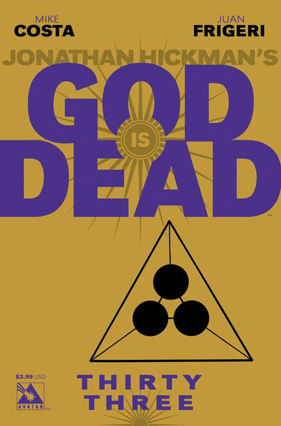 God Is Dead #33 Cover A Regular Cover