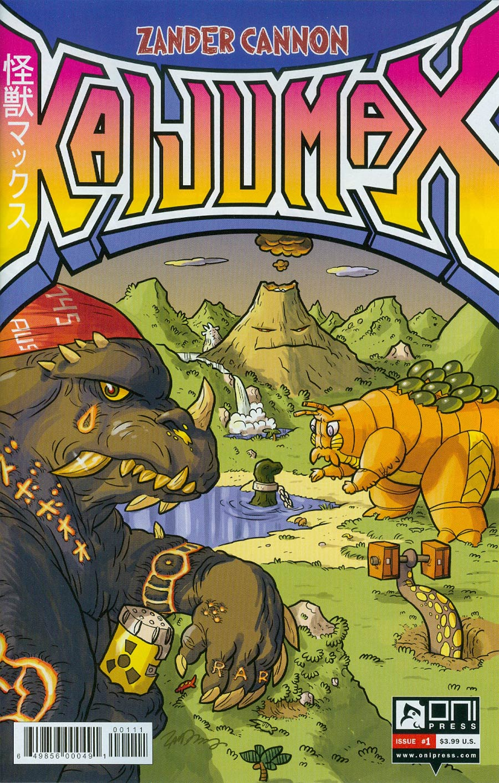 Kaijumax #1 Cover A Regular Zander Cannon Cover