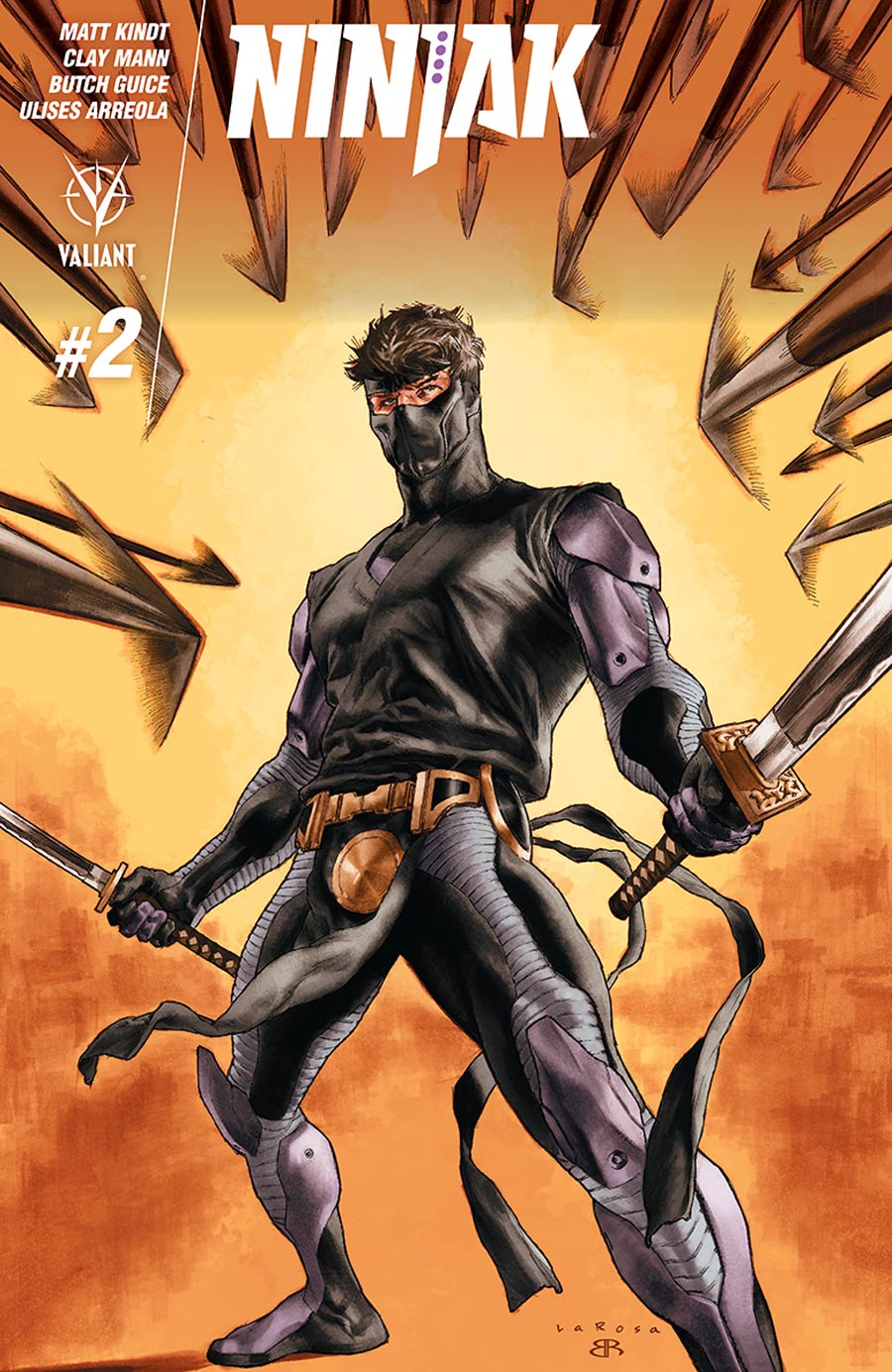 Ninjak Vol 3 #2 Cover A 1st Ptg Lewis LaRosa Cover