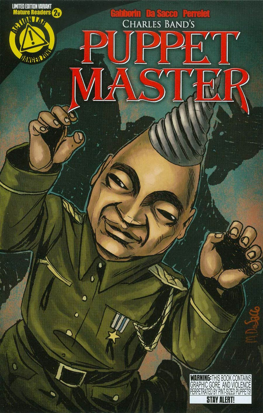 Puppet Master #2 Cover B Variant Tunneler Color Cover