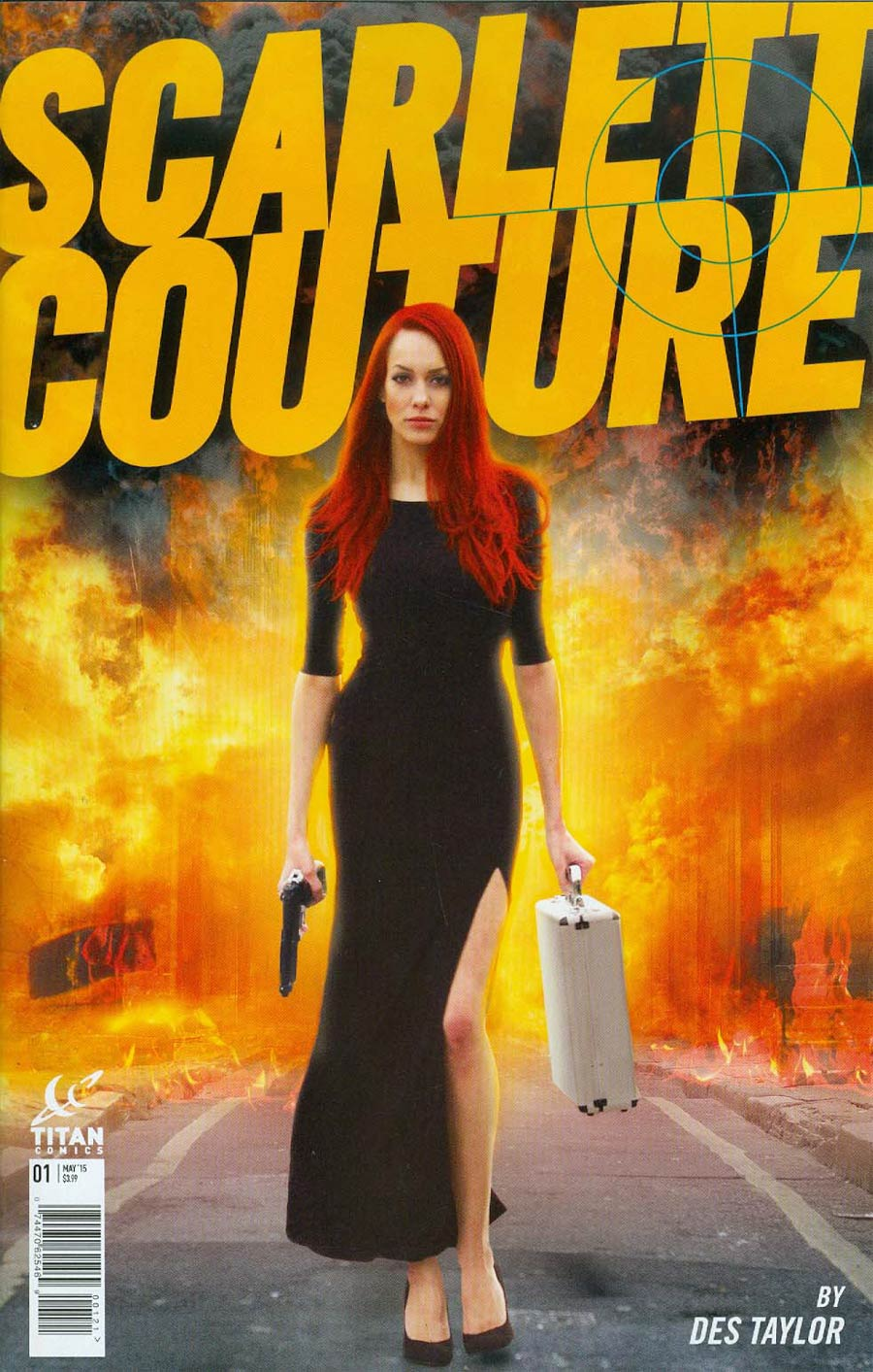 Scarlett Couture #1 Cover B Variant Photo Subscription Cover