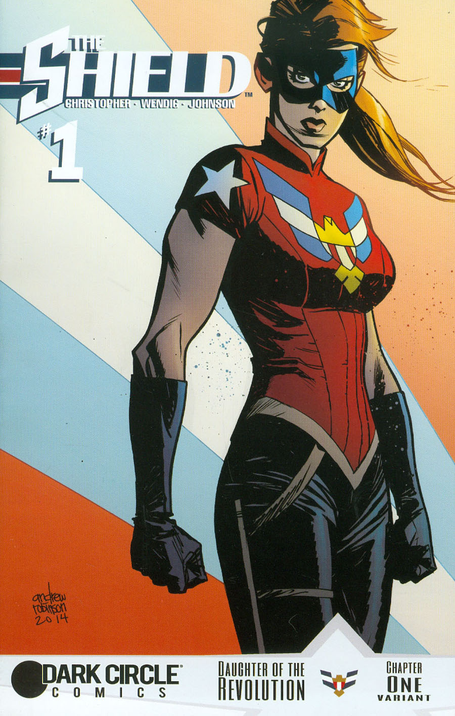 Shield Vol 3 #1 Cover C Variant Andrew Robinson Cover