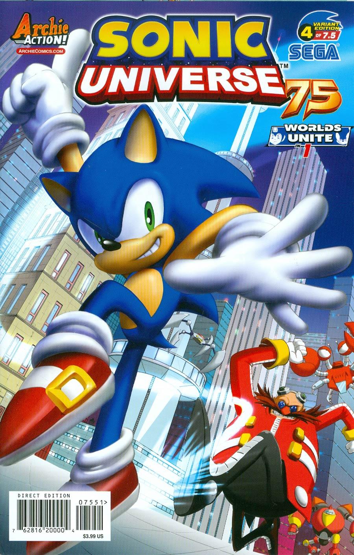 Sonic Universe #75 Cover E Variant Ega Studio Cover