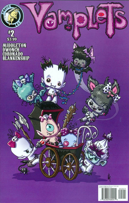 Vamplets Nightmare Nursery #2 Cover B Variant Cover