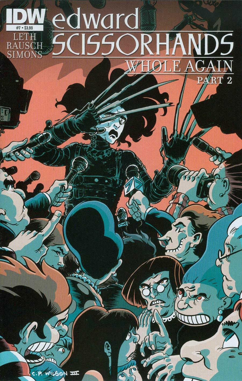 Edward Scissorhands #7 Cover A Regular CP Wilson III Cover