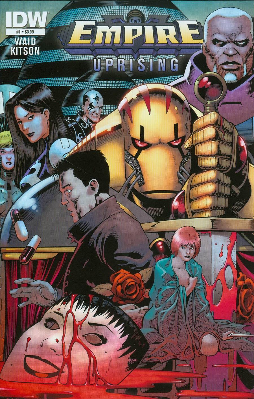 Empire Uprising #1 Cover A Regular Barry Kitson Cover