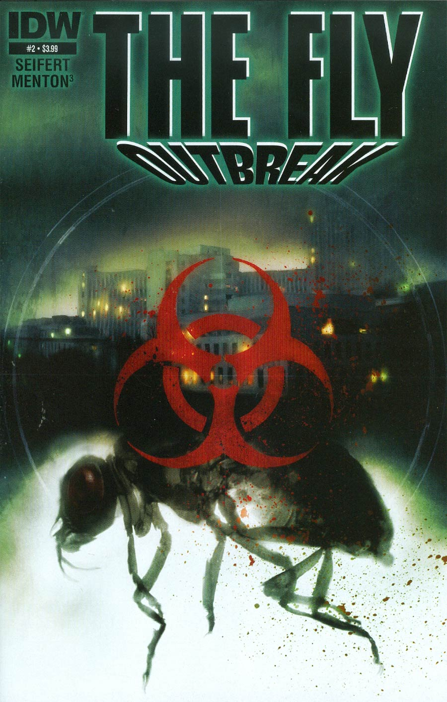 Fly Outbreak #2 Cover A Regular Menton3 Cover