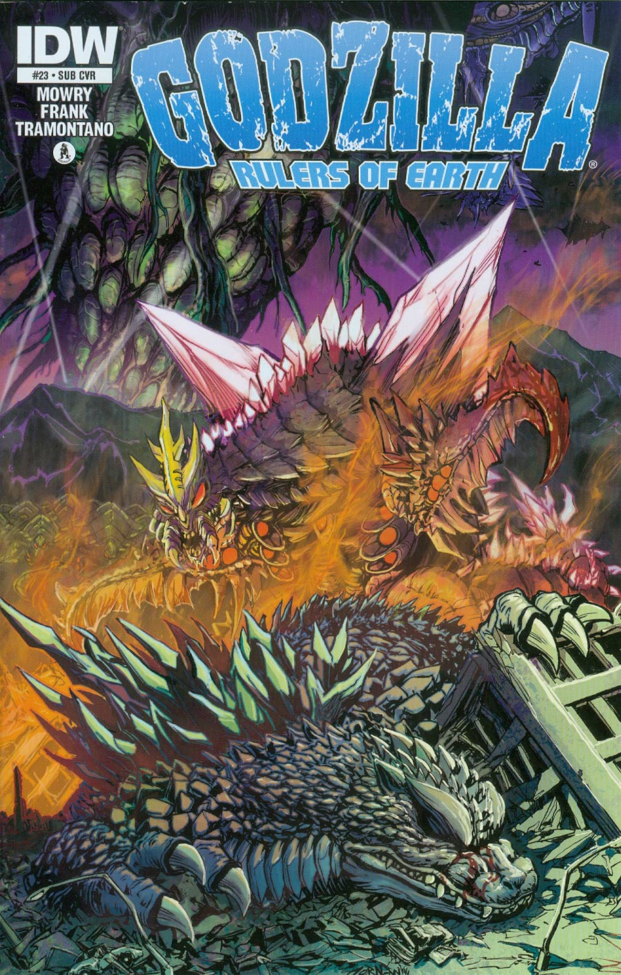 Godzilla Rulers Of The Earth #23 Cover B Variant Jeff Zornow Subscription Cover