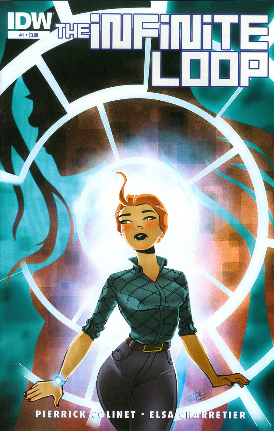 Infinite Loop #1 Cover A Regular Elsa Charretier Cover