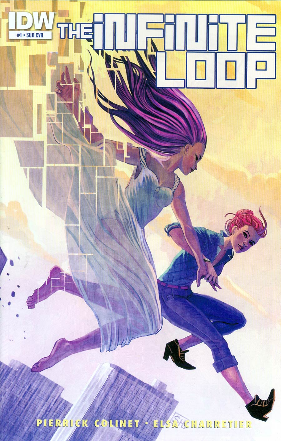 Infinite Loop #1 Cover B Variant Stephanie Hans Subscription Cover