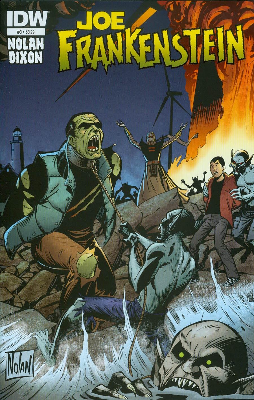 Joe Frankenstein #3 Cover A Regular Graham Nolan Cover