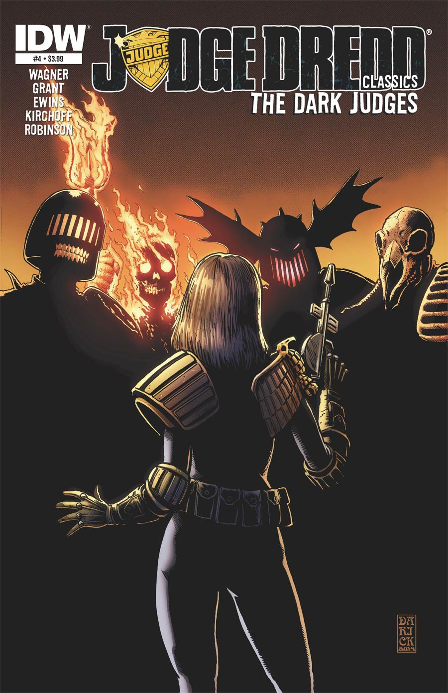 Judge Dredd Classics Dark Judges #4 Cover A Regular Darick Robertson Cover