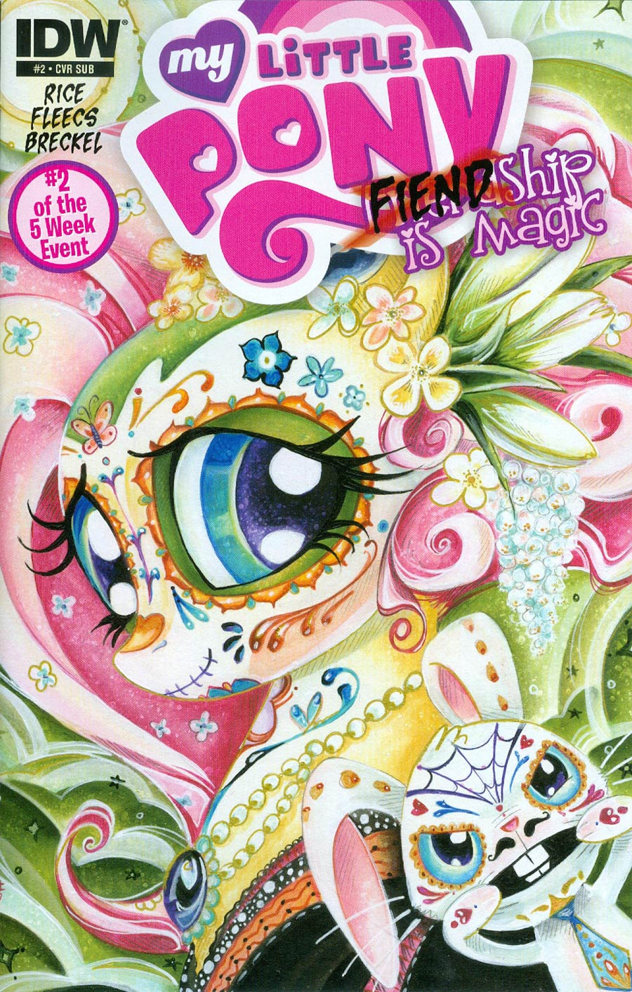 My Little Pony Fiendship Is Magic #2 Tirek Cover B Variant Sara Richard Subscription Cover