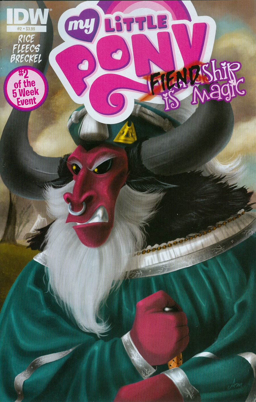 My Little Pony Fiendship Is Magic #2 Tirek Cover A Regular Amy Mebberson Cover