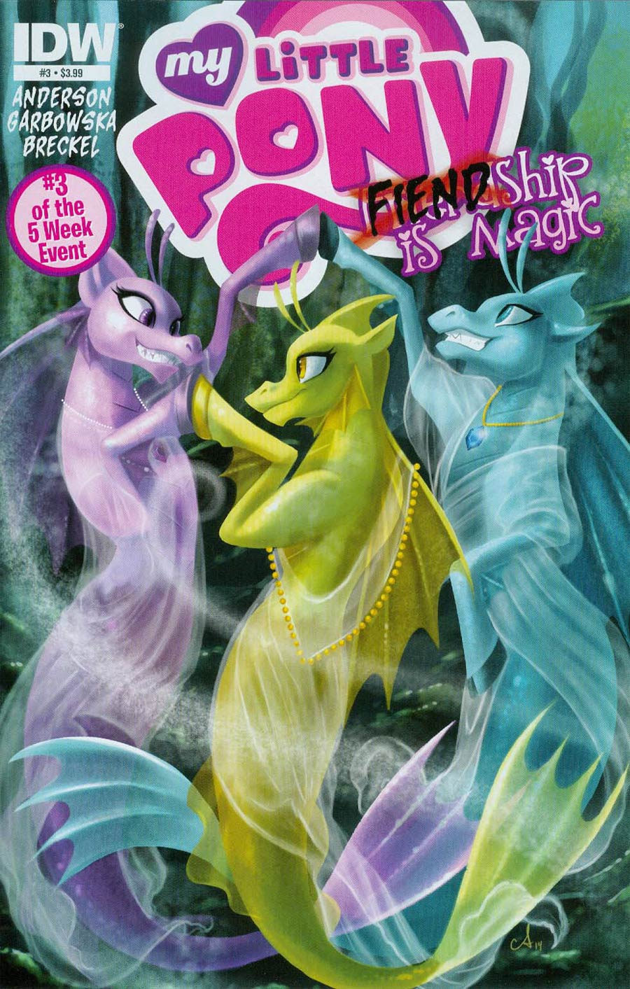 My Little Pony Fiendship Is Magic #3 Sirens Cover A Regular Amy Mebberson Cover