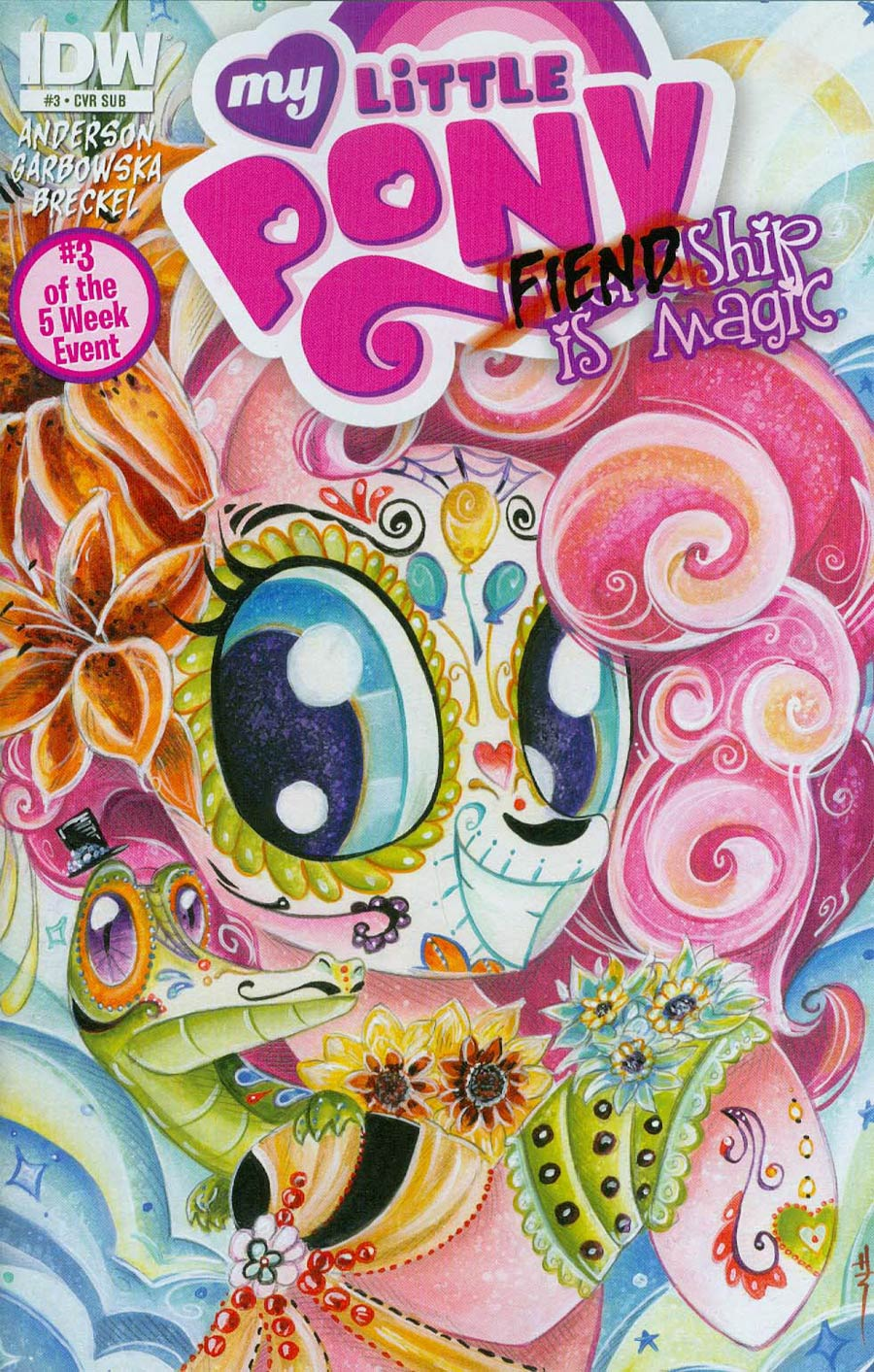 My Little Pony Fiendship Is Magic #3 Sirens Cover B Variant Sara Richard Subscription Cover