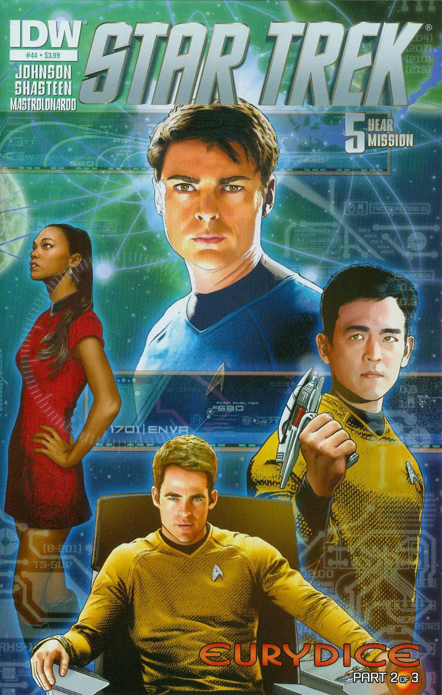 Star Trek (IDW) #44 Cover A Regular Joe Corroney Cover