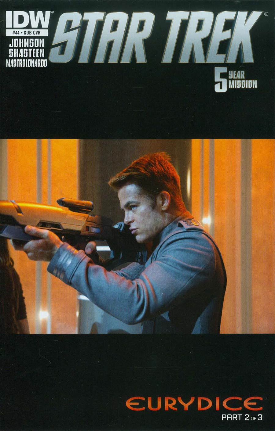 Star Trek (IDW) #44 Cover B Variant Photo Subscription Cover