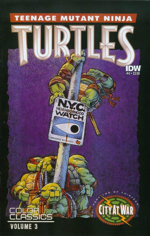 Teenage Mutant Ninja Turtles Color Classics Vol 3 #4