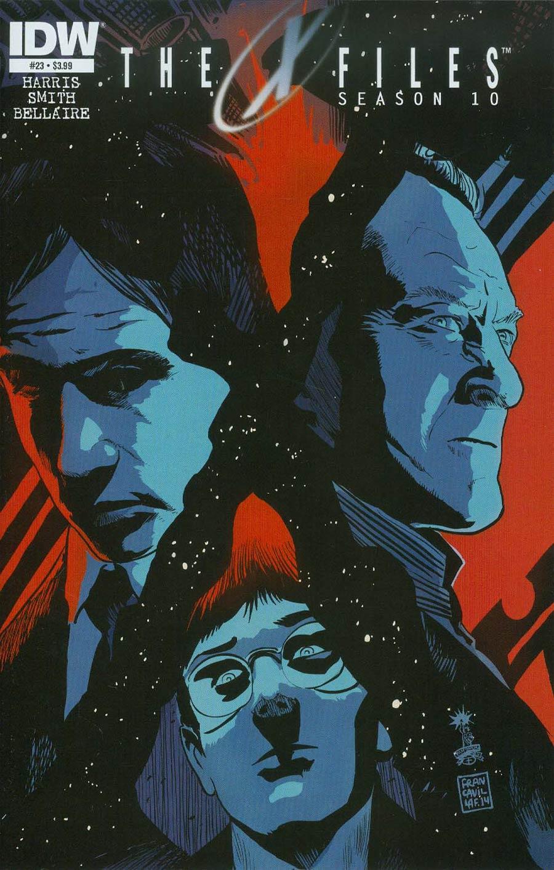X-Files Season 10 #23 Cover A Regular Francesco Francavilla Cover