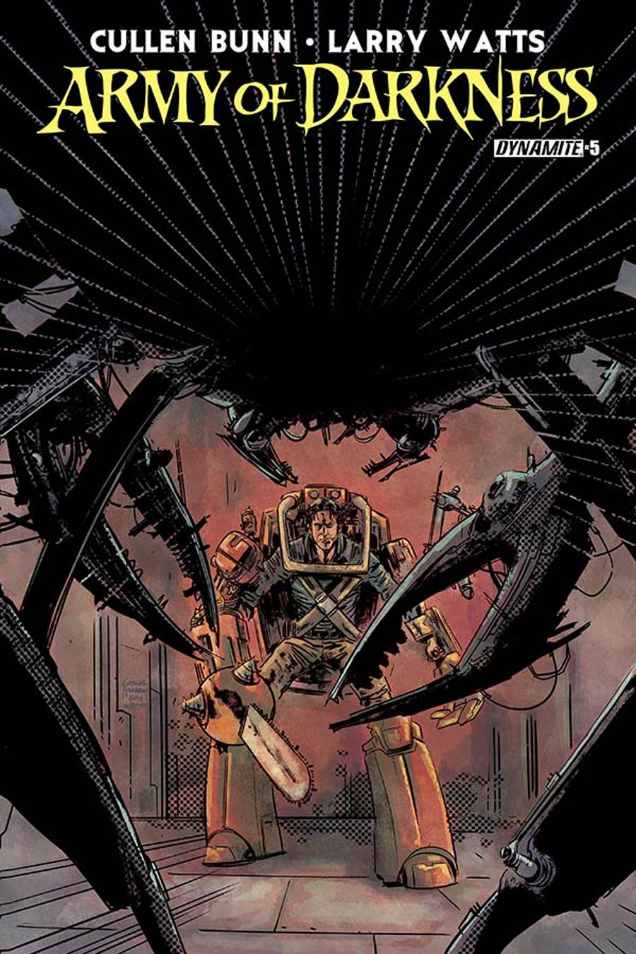 Army Of Darkness Vol 4 #5 Cover A Regular Gabriel Hardman Cover