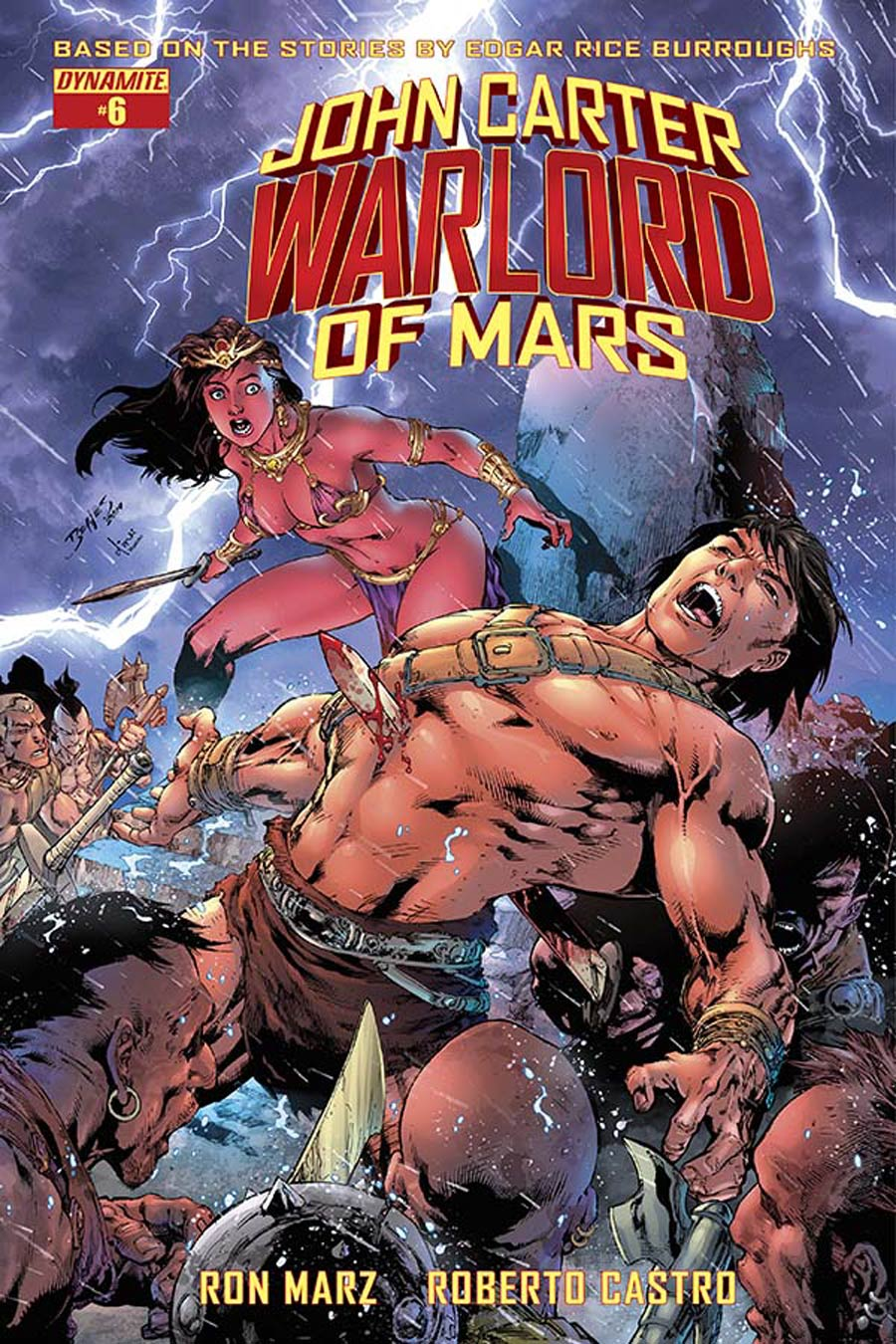 John Carter Warlord Of Mars Vol 2 #6 Cover A Regular Ed Benes Cover