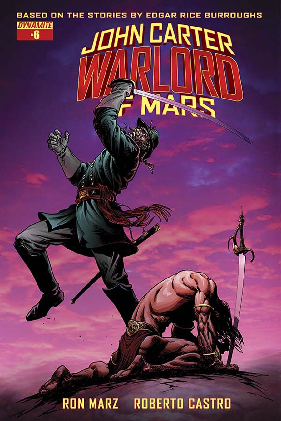 John Carter Warlord Of Mars Vol 2 #6 Cover B Variant Bart Sears Cover