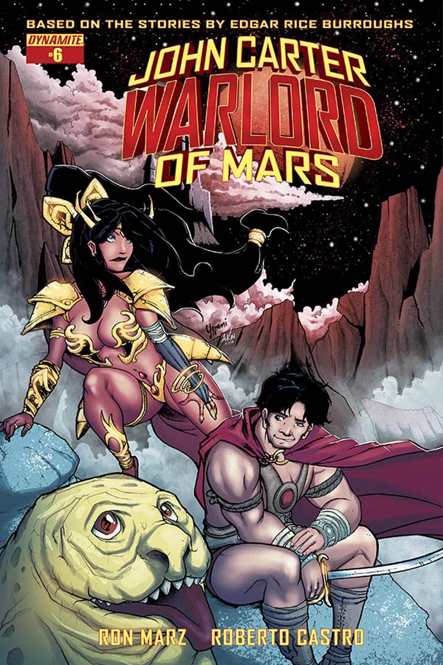 John Carter Warlord Of Mars Vol 2 #6 Cover D Variant Yonami Subscription Cover